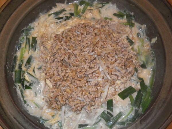 もやしタンタン鍋