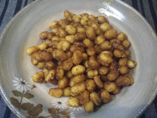 大豆の甘辛炒め