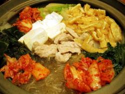 カロリー キムチ 鍋